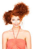 Fun with hair Stock Photos
