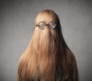 Fun hairstyle Royalty Free Stock Images