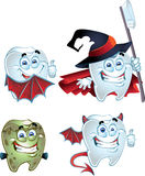 Fun halloween tooth Stock Images