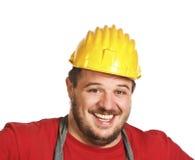 Fun handyman Stock Photo