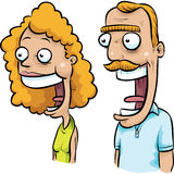 Fun Happy Couple Stock Images