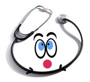 Fun happy doctor concept Stock Photo