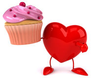 Fun heart Royalty Free Stock Images