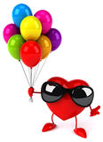 Fun heart Royalty Free Stock Photo