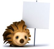Fun hedgehog Royalty Free Stock Photography
