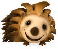 Fun hedgehog royalty free stock photos