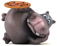 Fun hippo Royalty Free Stock Photography