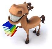 Fun horse Royalty Free Stock Photo