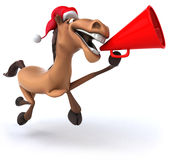 Fun horse Royalty Free Stock Photography