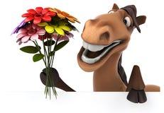 Fun horse Stock Photo