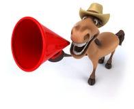 Fun horse Stock Image