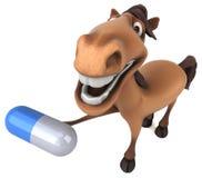 Fun horse stock illustration