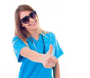 Fun at the hospital Royalty Free Stock Images