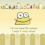Fun illustration Stock Photo