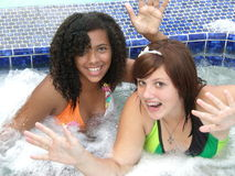 Free Fun In The Jacuzzi Royalty Free Stock Images - 6281439