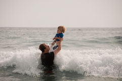 Free Fun In The Surf Royalty Free Stock Image - 12767646