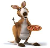 Fun kangaroo Royalty Free Stock Image