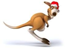Fun kangaroo. 3d generated picture Stock Photography