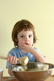 Fun in the kitchen Royalty Free Stock Images