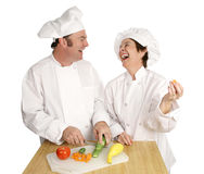 Fun in the Kitchen Royalty Free Stock Photos