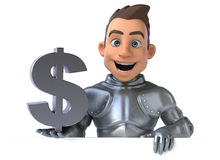 Fun knight Stock Photo
