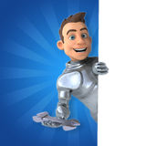 Fun knight Royalty Free Stock Images