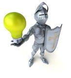 Fun knight Royalty Free Stock Image
