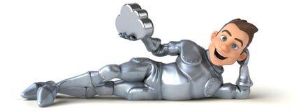Fun knight Stock Image