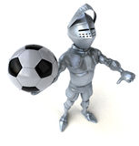 Fun knight Royalty Free Stock Image