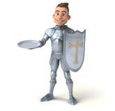Fun knight Royalty Free Stock Photo