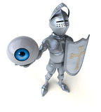 Fun knight Royalty Free Stock Photography