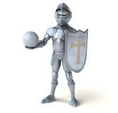 Fun knight Stock Photo