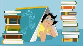 Fun librarian Royalty Free Stock Photo