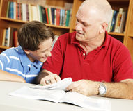 Fun in the Library Royalty Free Stock Photo
