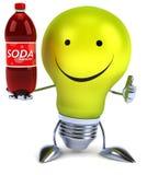 Fun light bulb Stock Photo