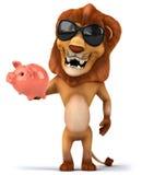 Fun lion Stock Image