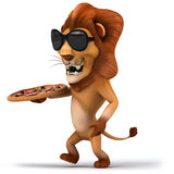 Fun lion Royalty Free Stock Images
