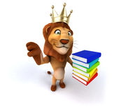 Fun lion Royalty Free Stock Photography