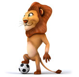 Fun lion Stock Photography