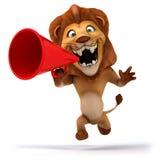 Fun lion Stock Photo