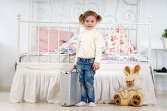 Fun Little girl Royalty Free Stock Photo