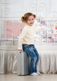 Fun Little girl Royalty Free Stock Images