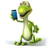 Fun lizard Stock Photos