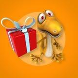 Fun lizard Stock Image