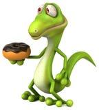 Fun lizard Stock Images