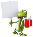 Fun lizard Stock Photography