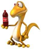 Fun lizard Royalty Free Stock Photos