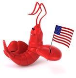 Fun lobster Stock Photos