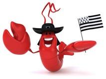 Fun lobster Royalty Free Stock Photo