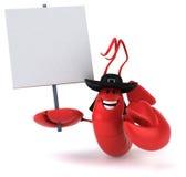 Fun lobster Stock Image